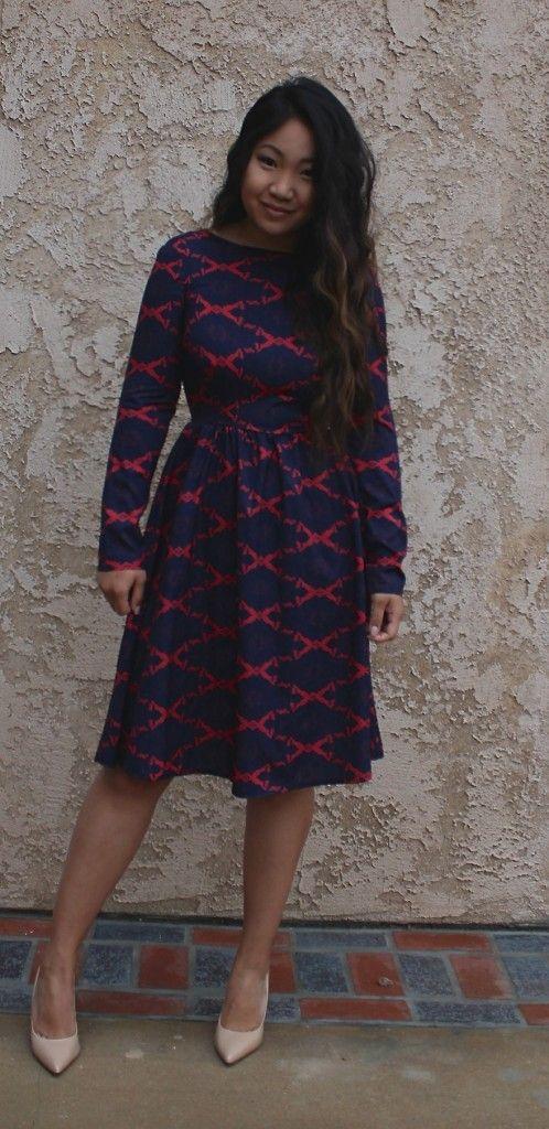 Romwe Flare Midi Dress - Tia Alese Wong