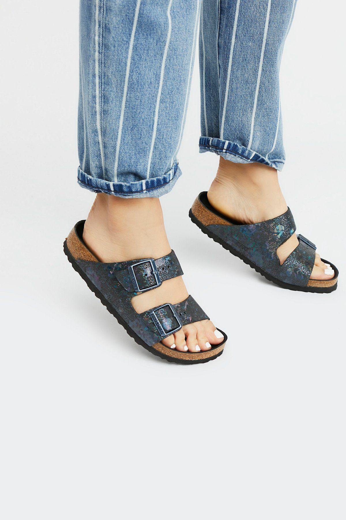 d1c7852bd573 Arizona Lux Metallic Birkenstock Sandal