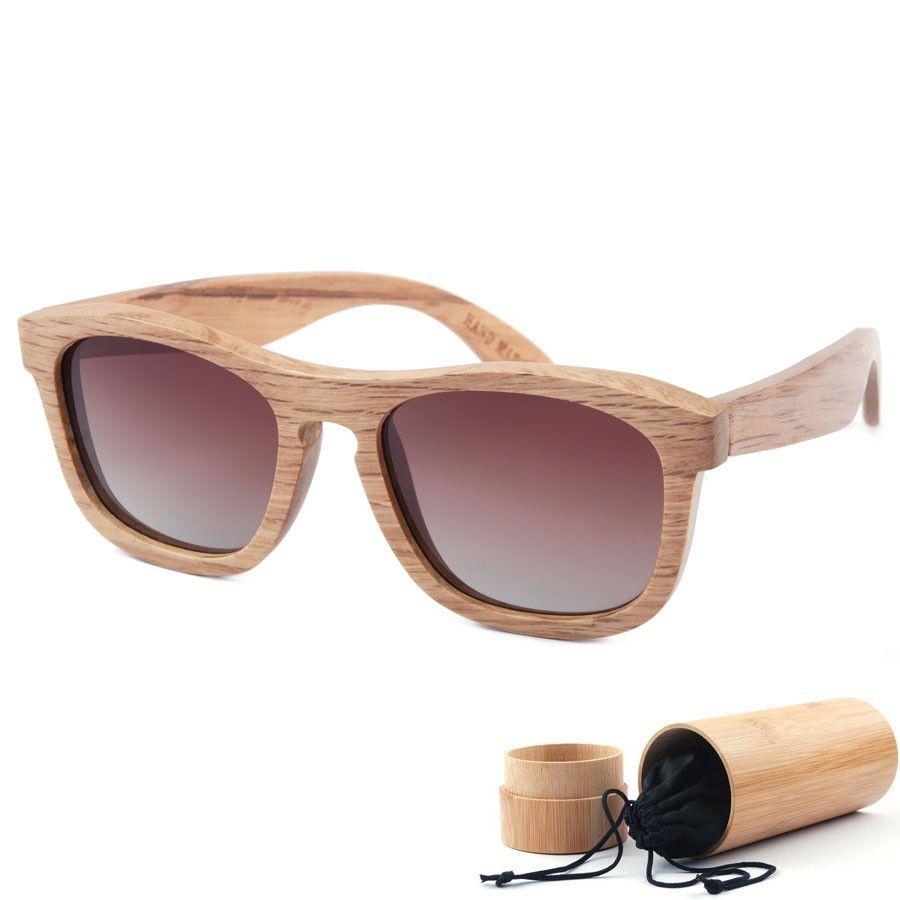 d45f132204 Price tracker and history of Zebra Wood Sunglasses Men Brand Designer  Polarized Driving Sun Glasses Wooden Glasses Frames Oculos De Sol Feminino