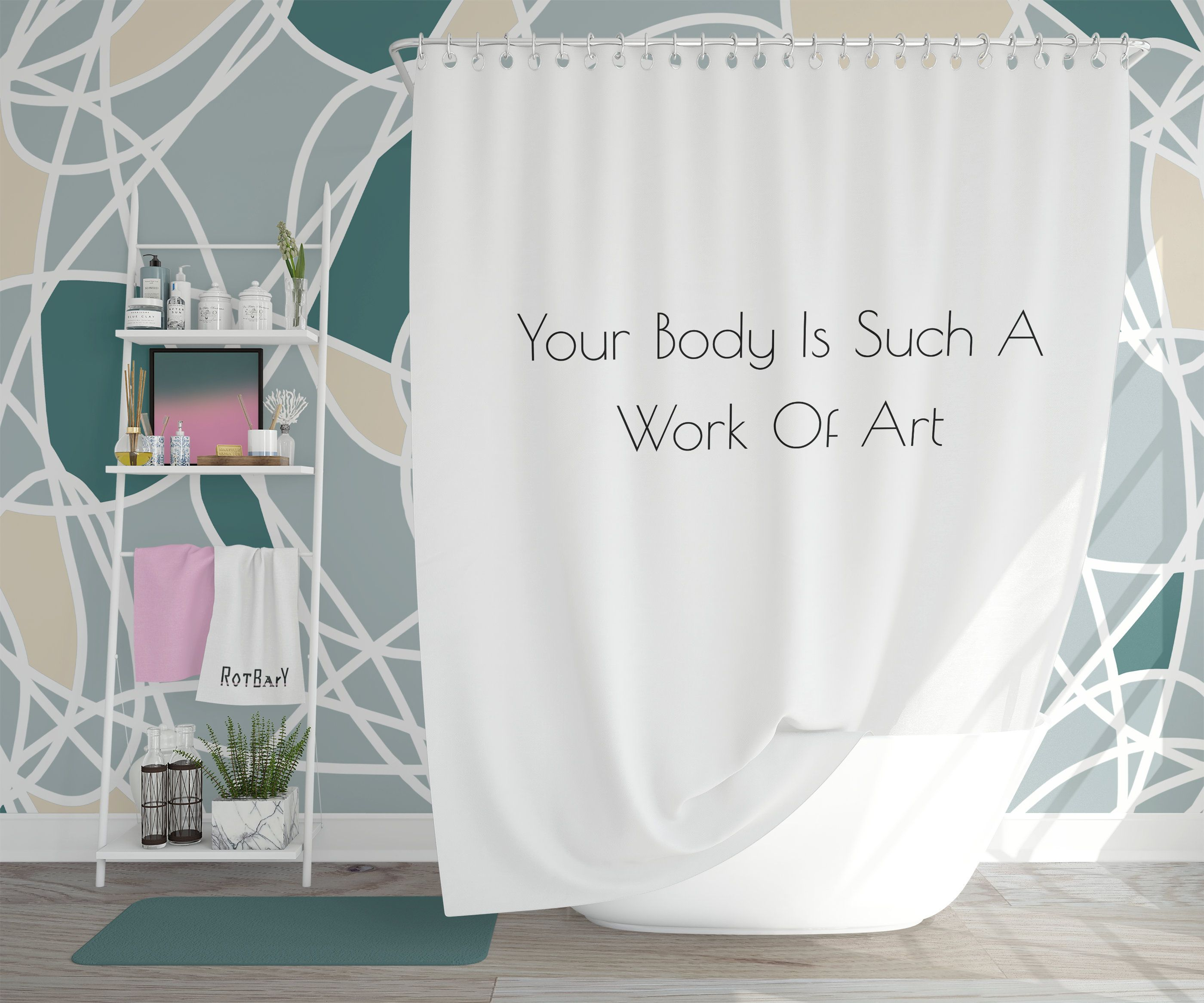 Pin On Shower Curtains