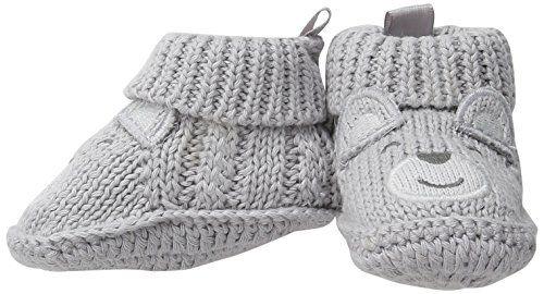 Easy Knit Newborn Baby Booties | Bebe
