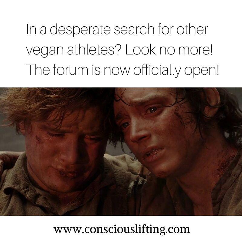 Vegan 95 Forum