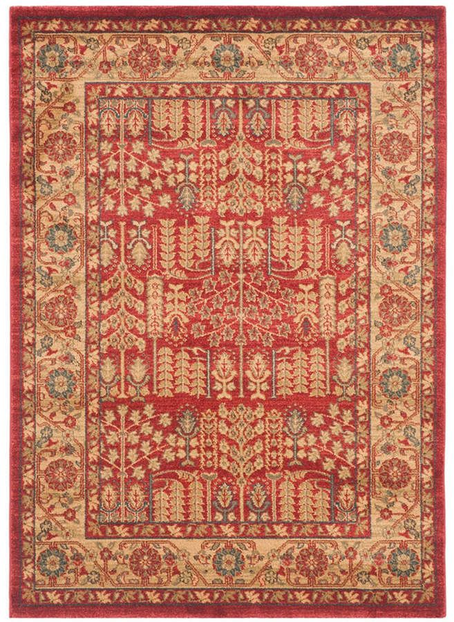 Safavieh Mahal Red And Natural 10 X 14 Area Rug Reviews Rugs Macy S Oriental Area Rugs Traditional Area Rugs Area Rugs