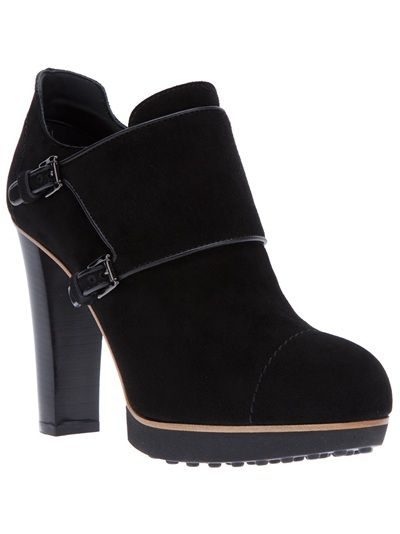 Tod's buckle-up ankle boots