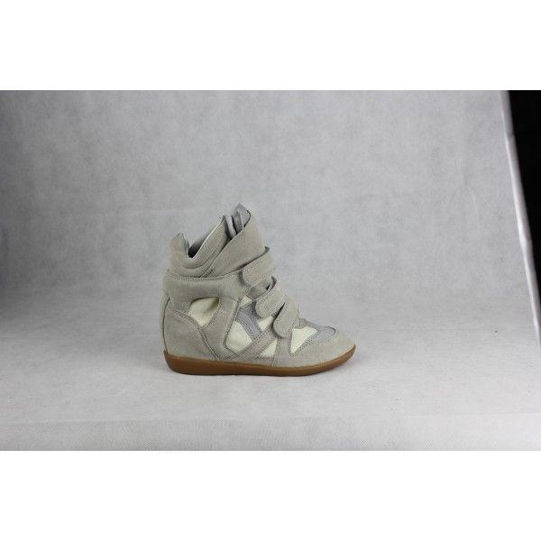 b8e10dc81c0e Pin by Brandon Austin on Isabel Marant Wila High Top Sneaker Beige ...
