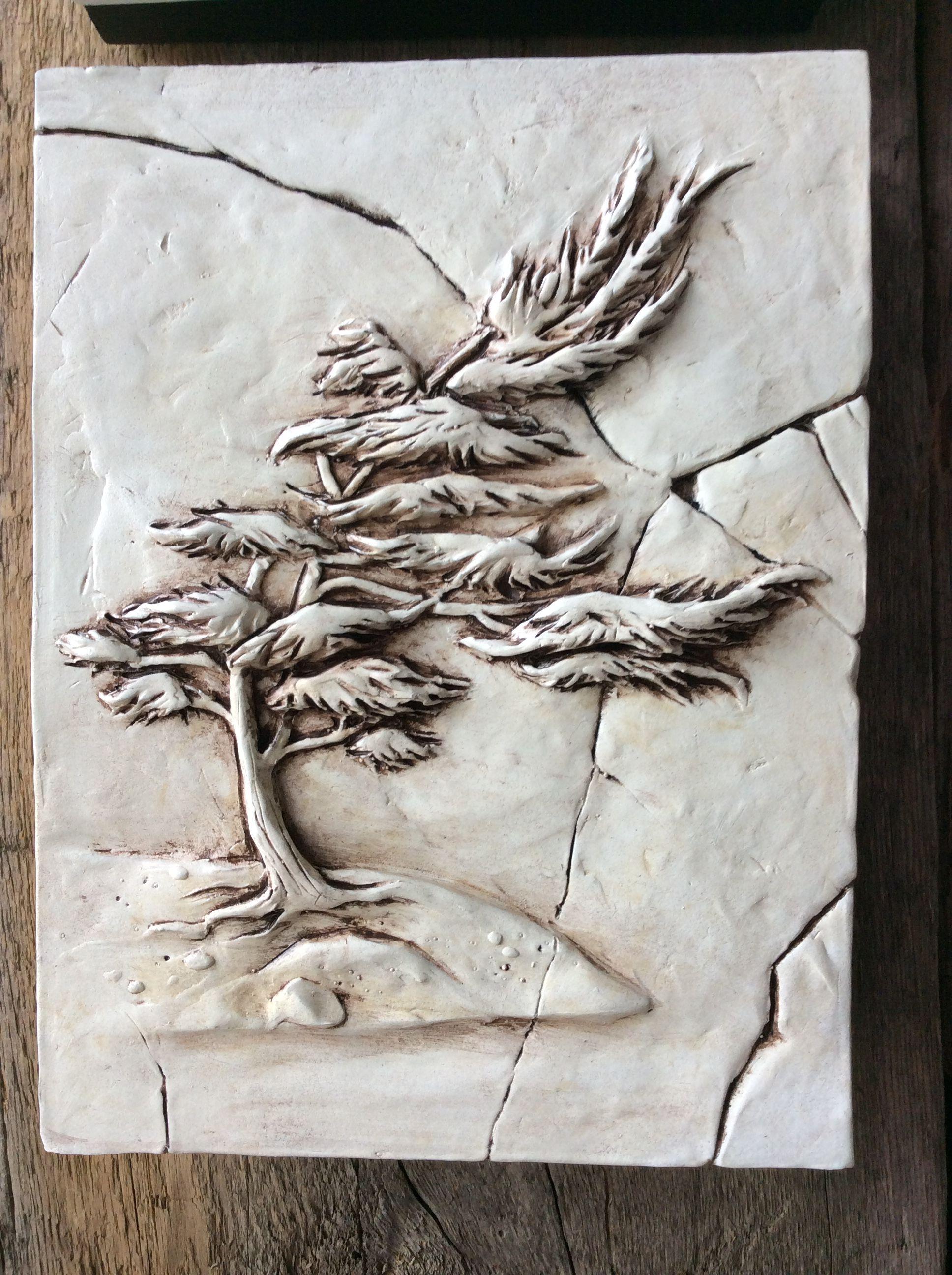 Muskoka tree, sculpted