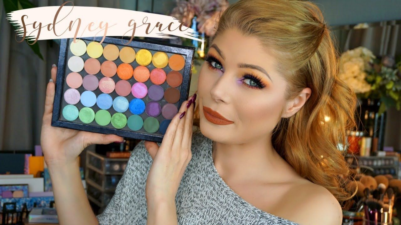 Sydney Grace Eyeshadows Review & Swatches Eyeshadow