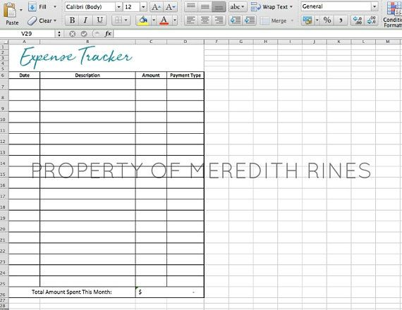 Expense Tracker Excel Spreadsheet Budget Templates and Planners - business expenses spreadsheet template excel
