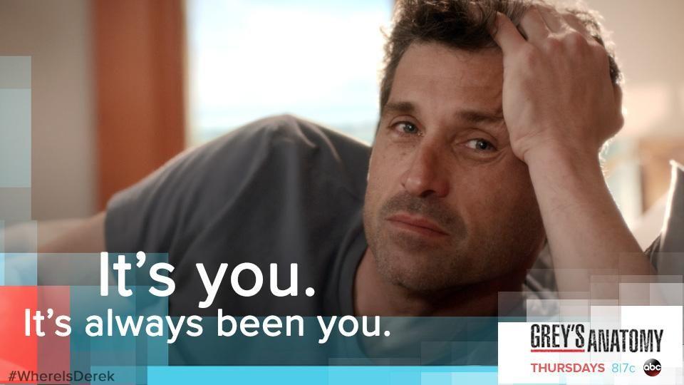 Meredith and Derek. #WhereIsDerek #GreysAnatomy   Grey\'s Anatomy ...