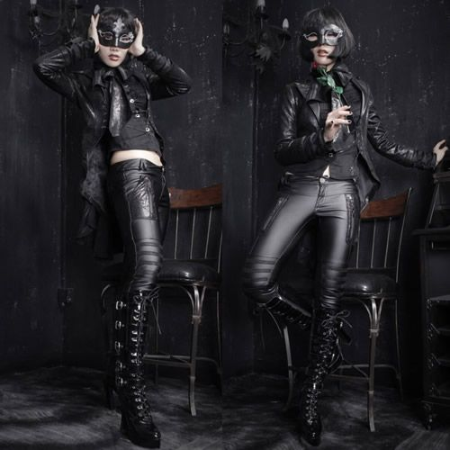 Black Gothic Vampire Emo Goth Halloween Costumes Jackets Women Men SKU- 11401145 1d775b05f