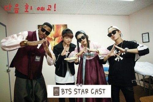 BTS in American Hustle Life (*Tooonyyy you want some myolk?) | Jimin | Bangtan