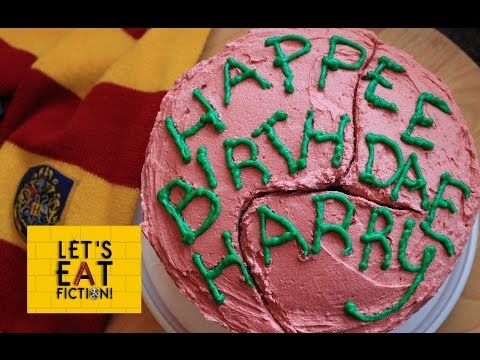 Let S Eat Fiction Hagrid S Birthday Cake For Harry Harry Potter