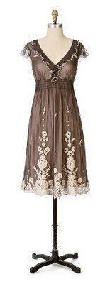 "Rare Anthropologie Lithe ""Laurel Run"" Dress Size 0   eBay"