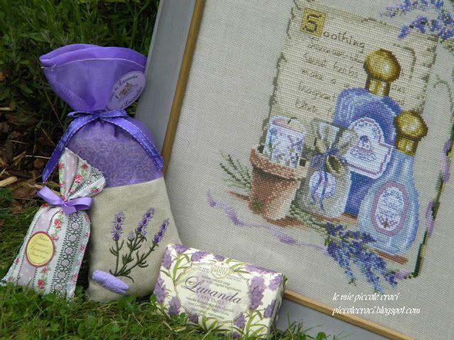 """le mie piccole croci: Noformēta """"Soothing Lavender / Calmant Lavande"""" (Janlynn #26-105)"""