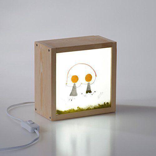 Caja de luz decorativa con luz LED
