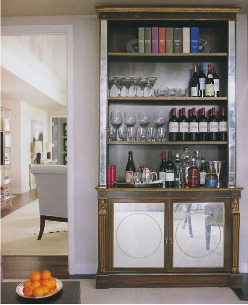 39 Cool Home Mini Bar Ideas | Shelterness | bar | Pinterest | Bar ...