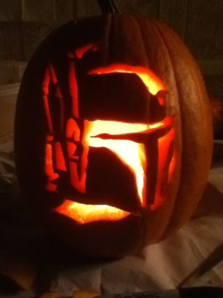 This was my pumpkin this year...