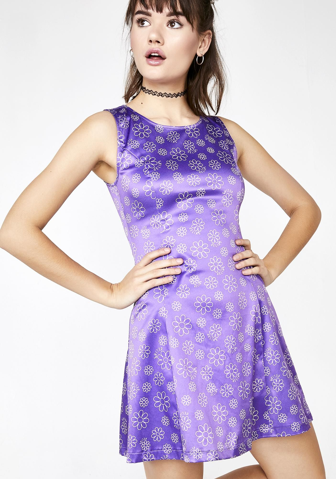 efc82185b51f Glamphoria Satin Dress in 2019 | DOLL KILL | Dresses, Fashion ...