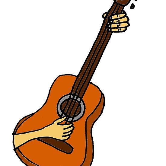 Cool Playing Guitar Art