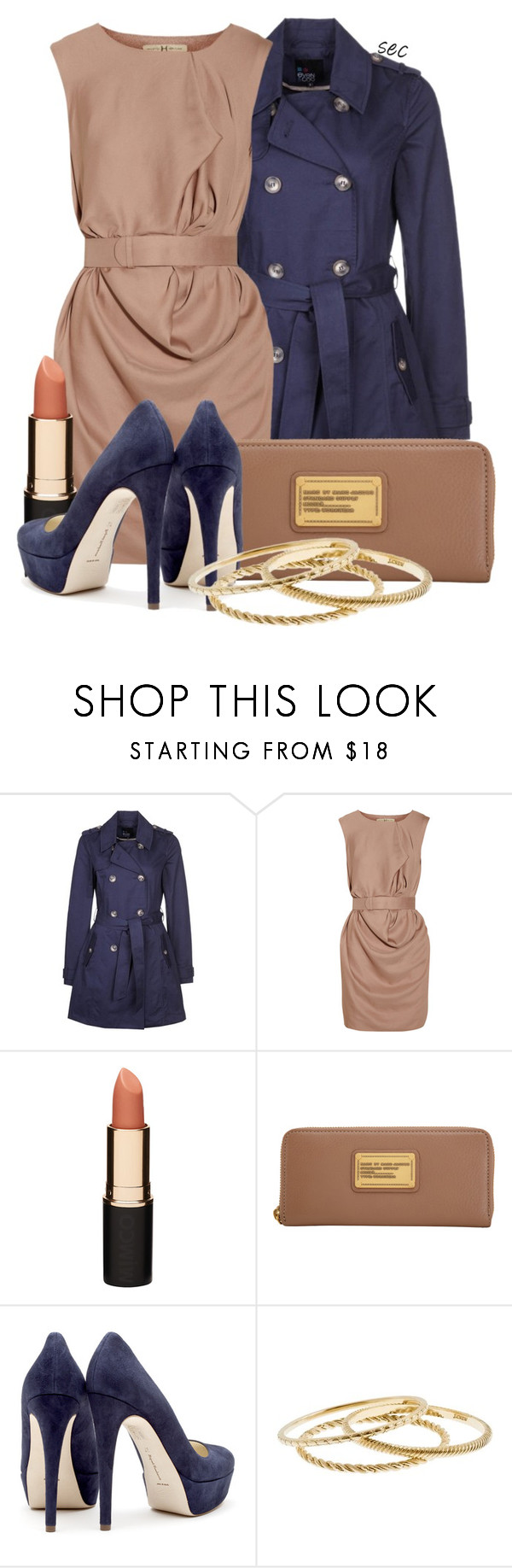 """Untitled #350"" by coombsie24 ❤ liked on Polyvore featuring even&odd, Halston Heritage, Mimco, Marc by Marc Jacobs, Rupert Sanderson and J.Crew"