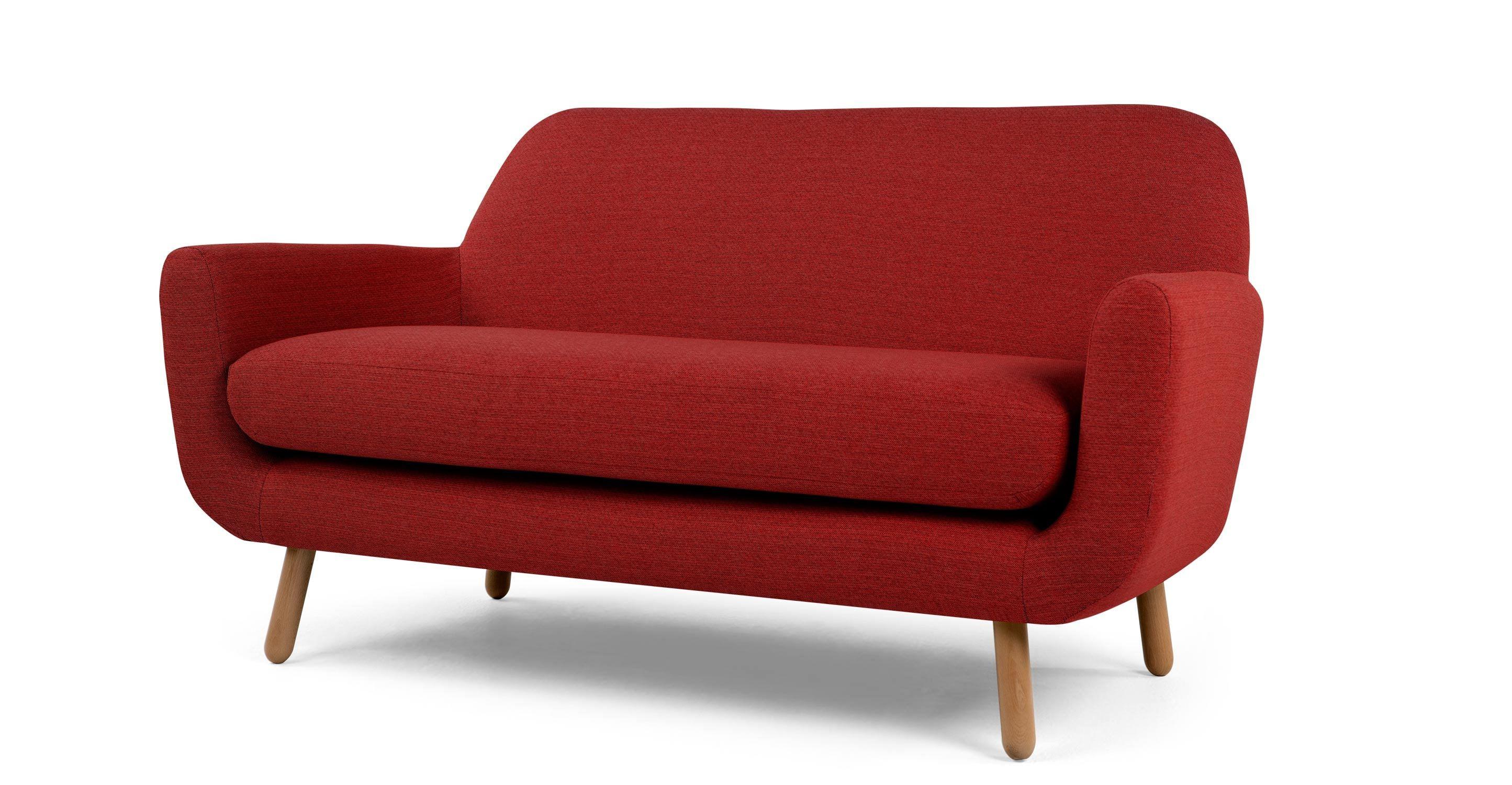 Jonah 2 Seater Sofa Ketchup Red
