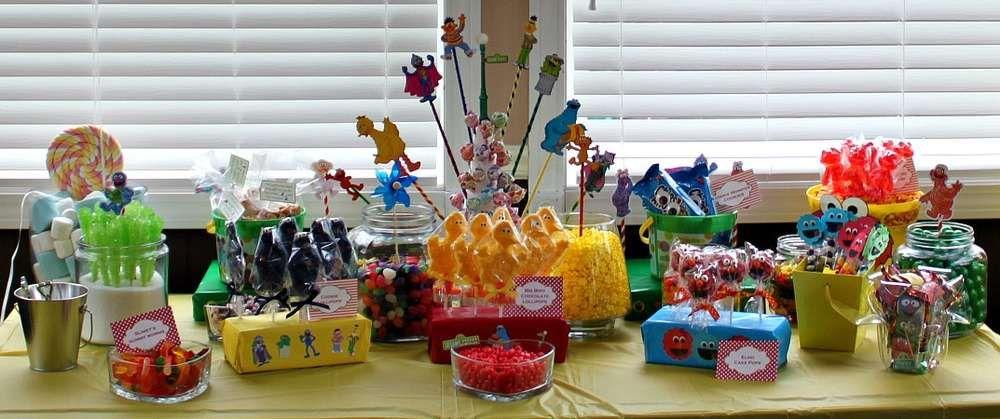 Jackson's Sesame Street Party | CatchMyParty.com