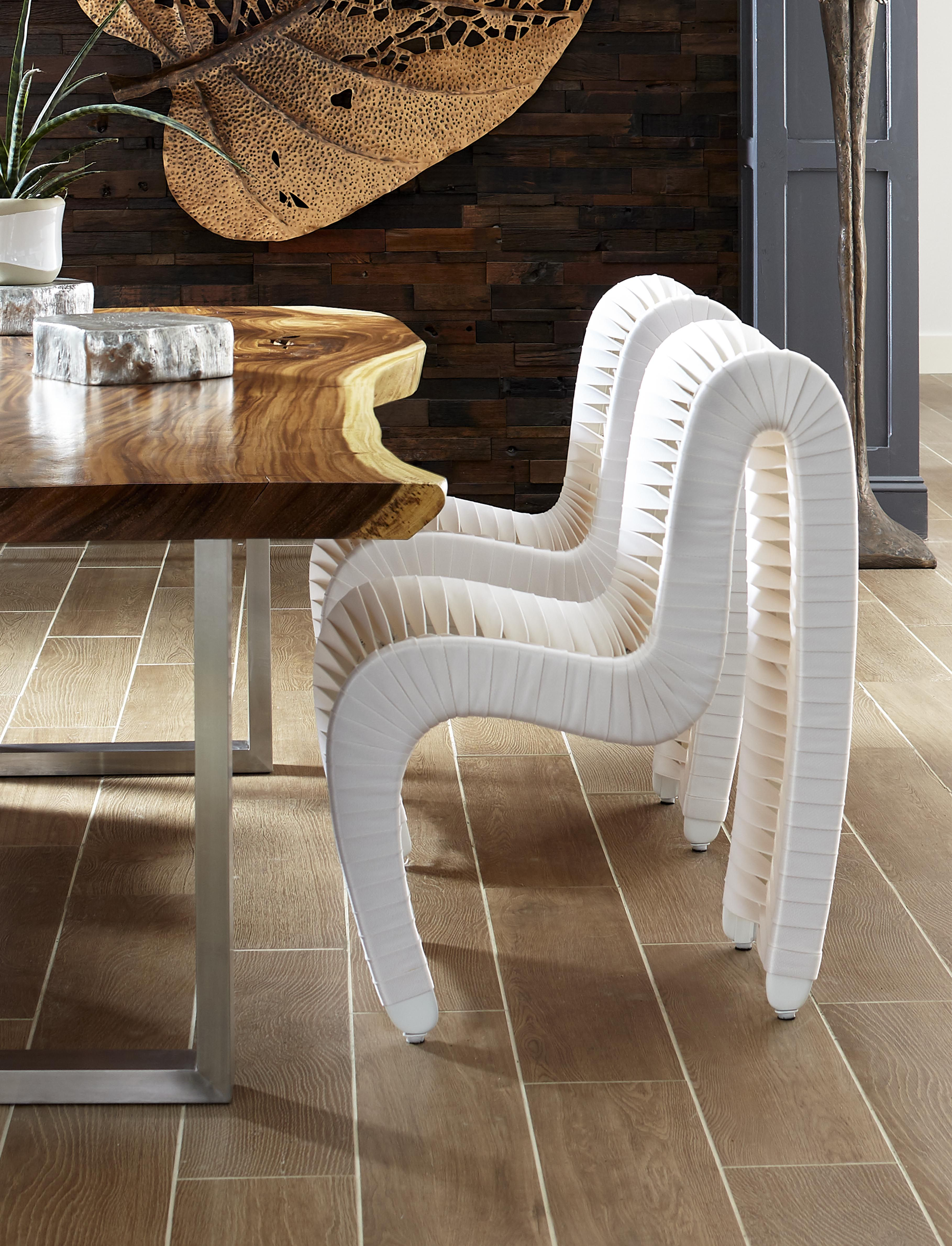 Seat Belt Dining Chair White Off White Dining Room Design Modern White Dining Chairs Contemporary Seating