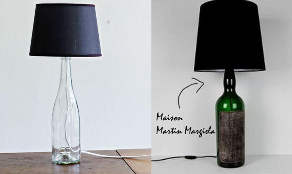 Create your own maison martin margiela inspired bottle lamp i made mine for less than