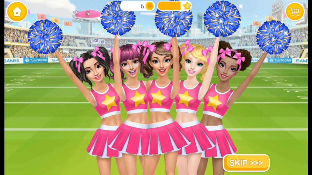 Hannah S Cheerleader Girls Dance Fashion Tutotoons Games For Gilrs Cheerleader Girl Girl Dancing Dance Fashion
