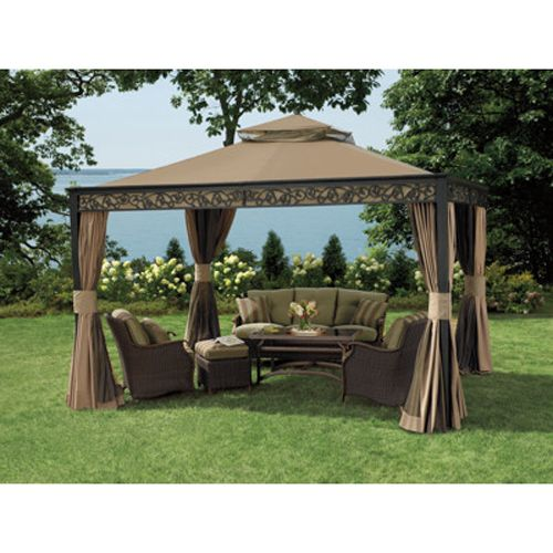 Bjs Living Home Outdoors 10 X 12 Gazebo Replacement Canopy