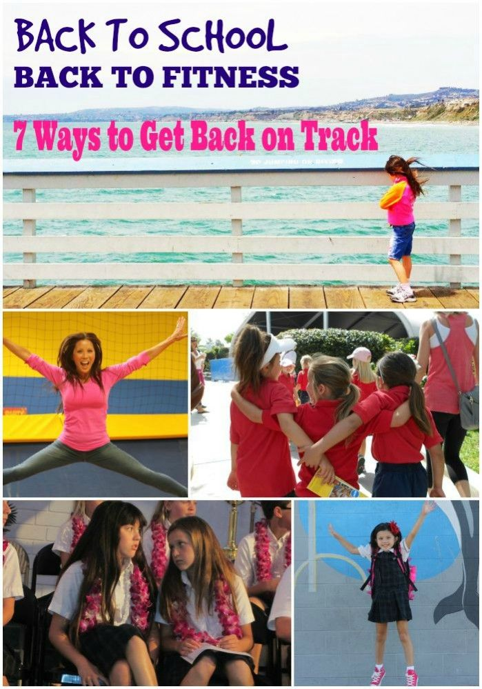 Back to School  Fitness fitmomtv.com