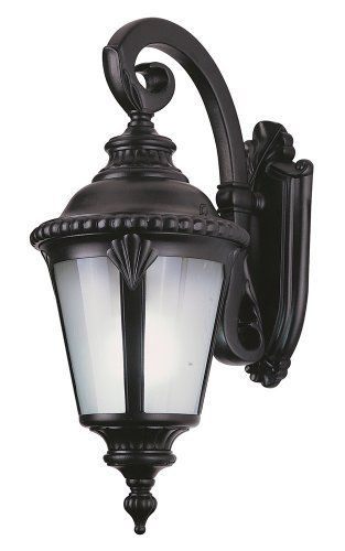 Bel Air Lighting Pl 5043 Bk Energy Efficient Outdoor With Fluorescent Bulb By