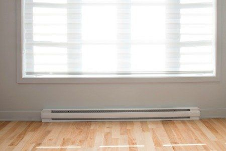 Baseboard Heaters Can Be Painted Along With The Rest Of A