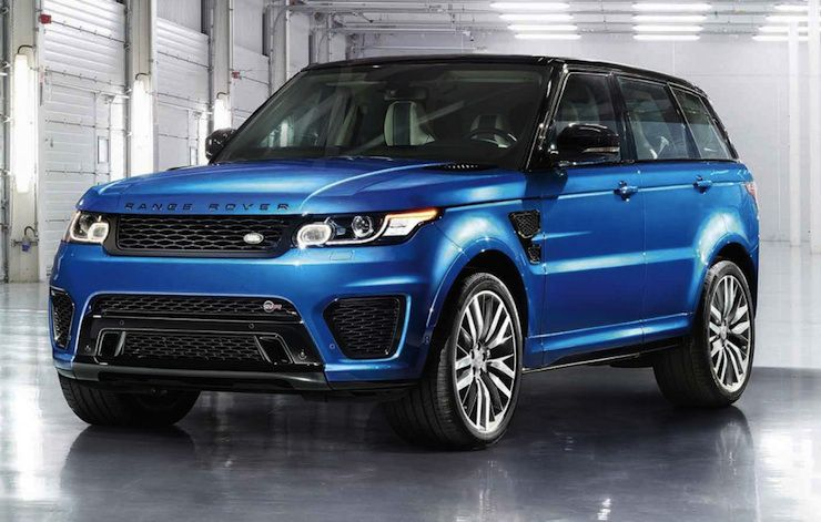 New 550hp Range Rover Sport SVR is Fastest Rover Yet
