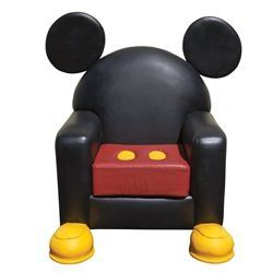 Mickey Mouse Furniture | Mickey Mouse Leather Chair From Disney World U201cToon  Town | Disney