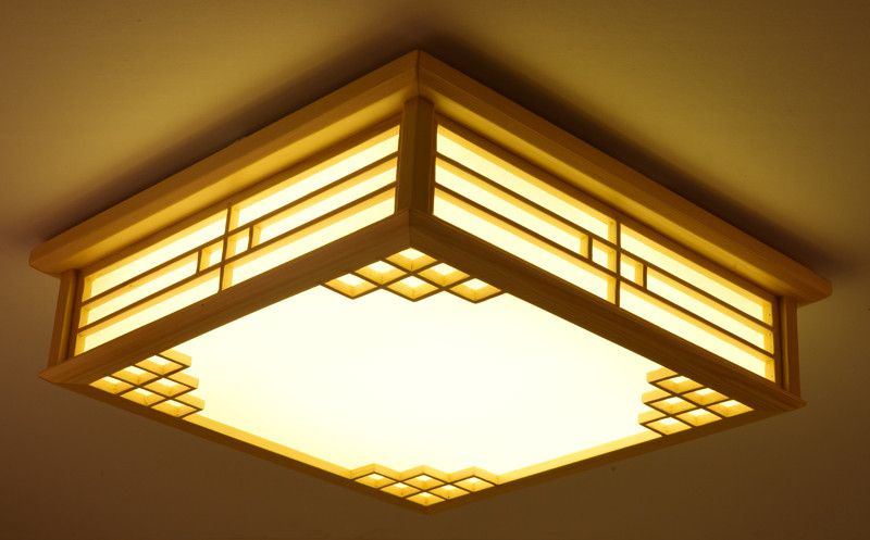 Dimmable Japanese Ceiling Lights Indoor Lighting Led ...