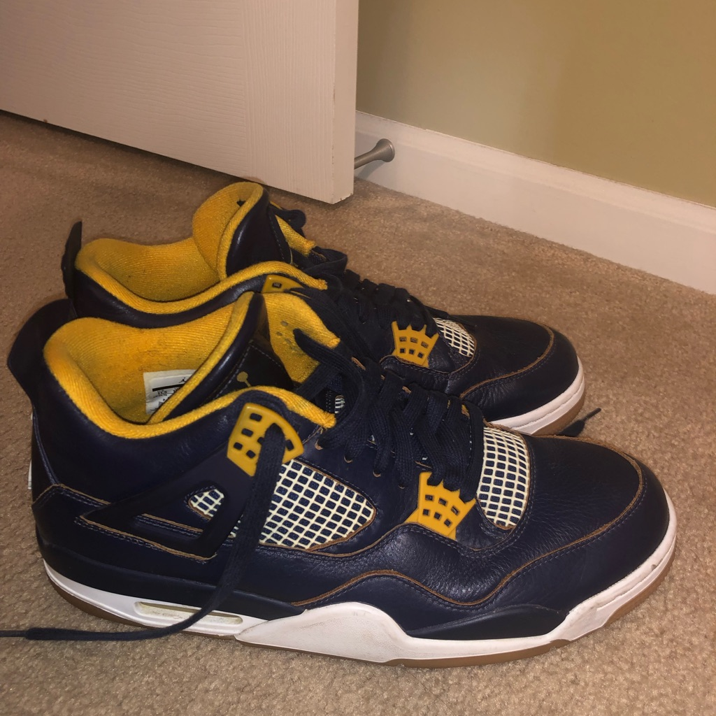 jordan 4s blue and yellow \u003e Up to 65