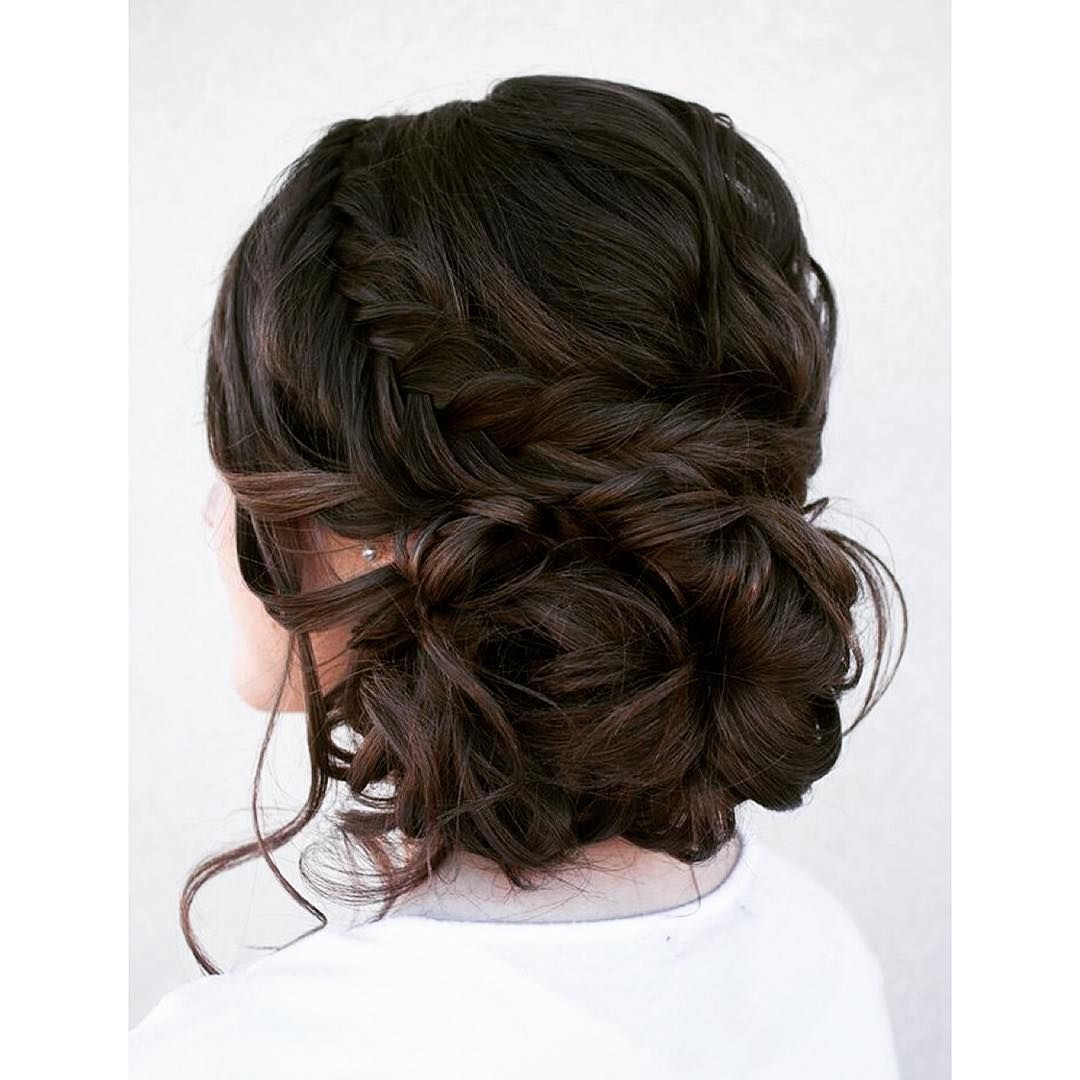 beautiful curly bun | hair | fall wedding hairstyles, prom