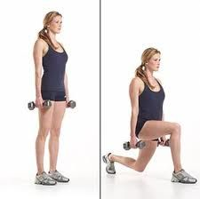 Image result for weighted lunges