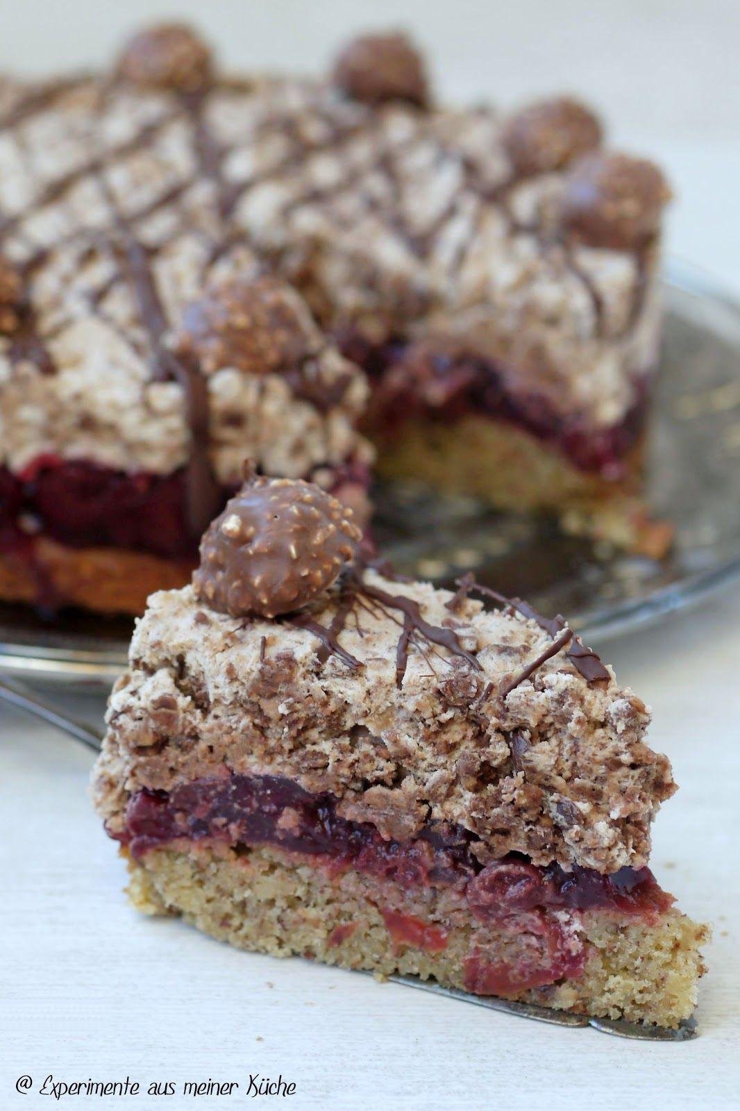 rocher kirsch torte rezepte pinterest kuchen backen und kirschen. Black Bedroom Furniture Sets. Home Design Ideas