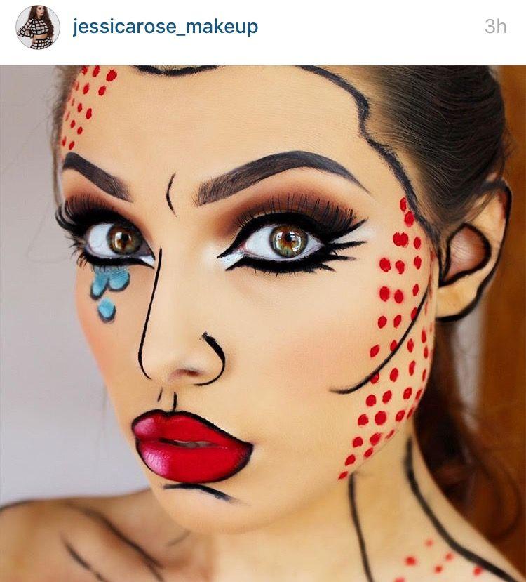 Pin by Viridiana Gómez on Halloween Pinterest Makeup, Halloween - easy makeup halloween ideas