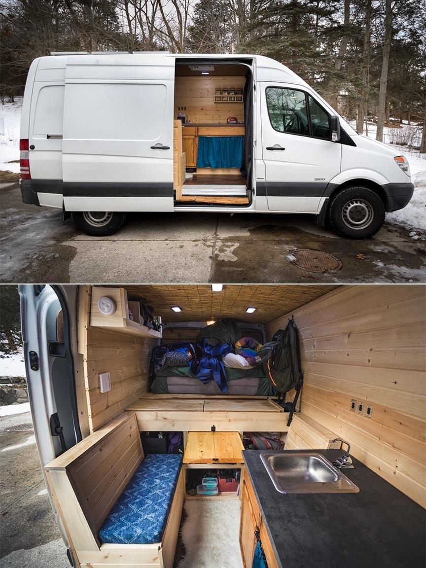 3959 Points And 344 Comments So Far On Reddit Camper Van Conversion Diy Campervan Interior Van Life