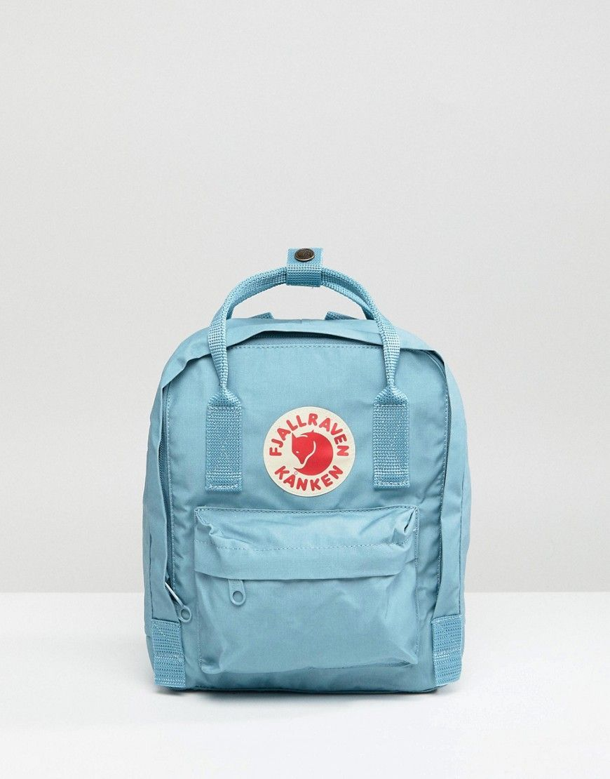 ccc9a52f8f873 Fjallraven Mini Kanken Backpack in Sky Blue - Blue