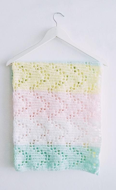 Hopscotch Crochet Blanket Pattern | baby | Pinterest | Manta, Cobija ...