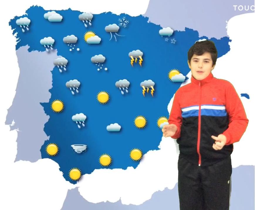 1eso Proyecto Un Noticiario Del Tiempo Con Touchcast Proyectos Un Paseo Por Las Nubes Biomas
