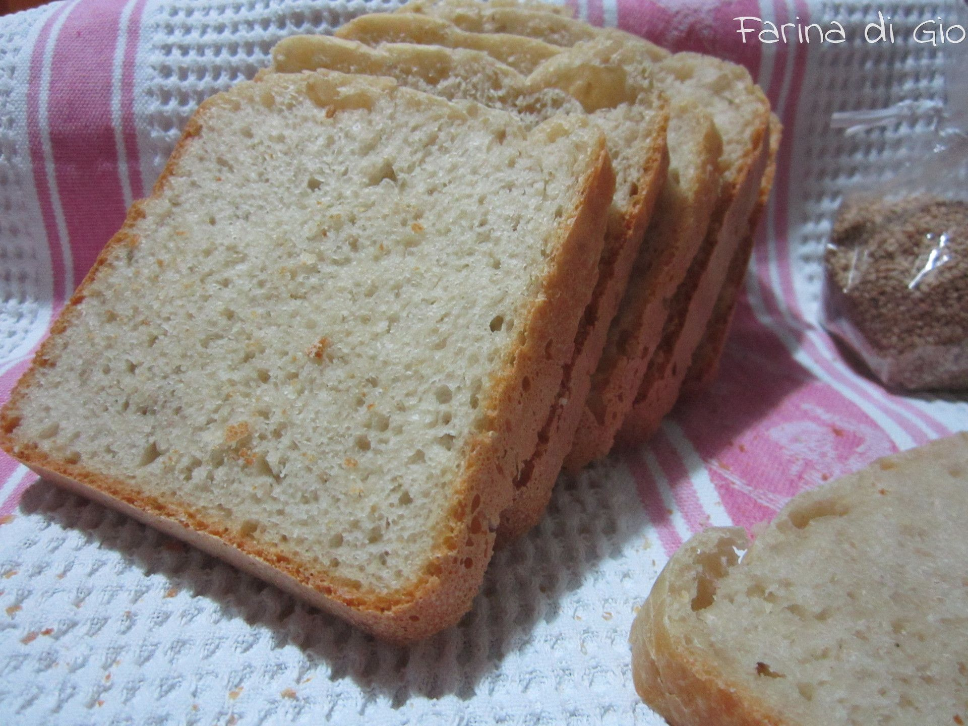 #bread with spelt flour and sesame seeds