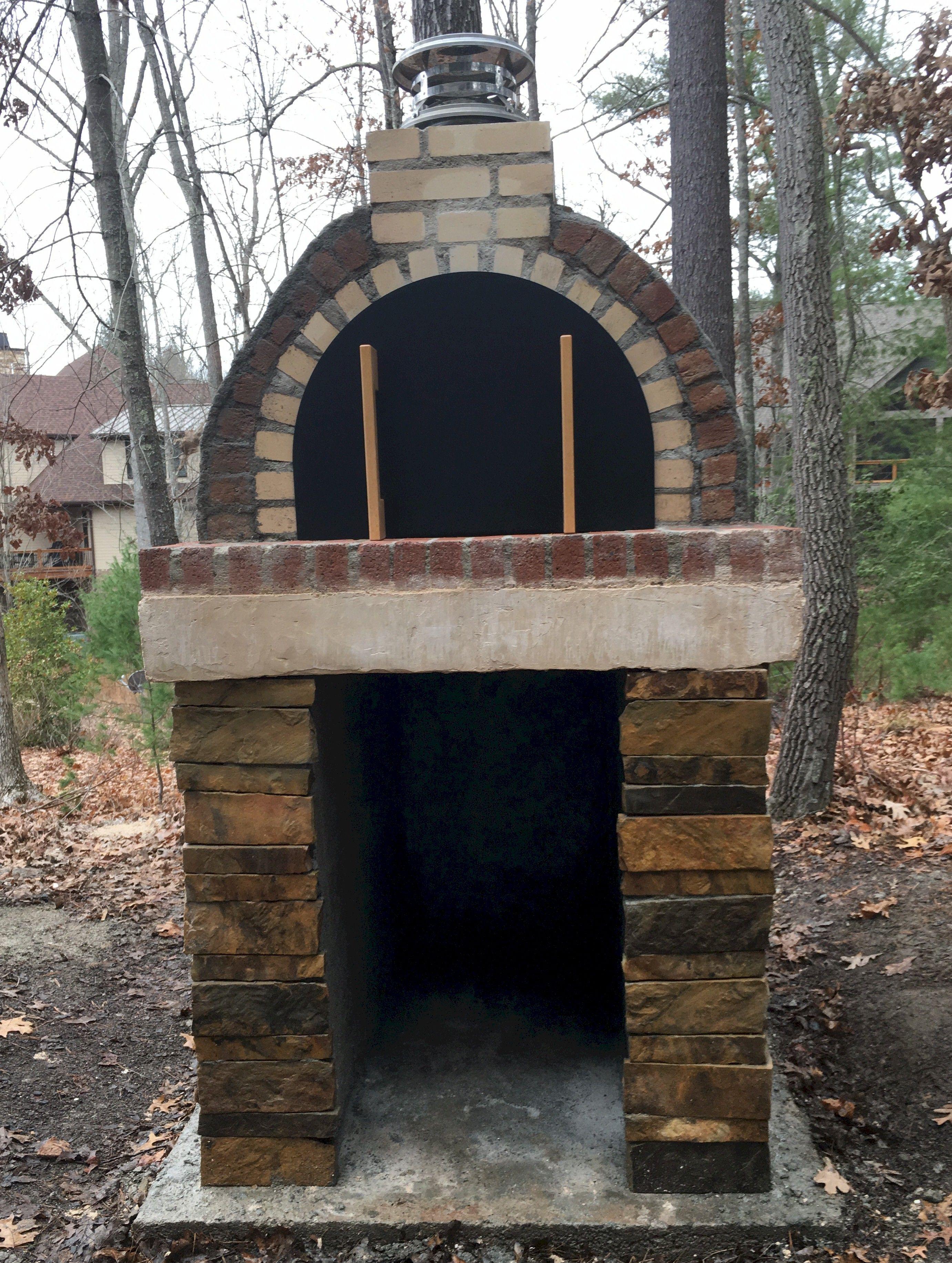 OUTDOOR BRICK OVEN SLEATER Brick pizza oven, Brick
