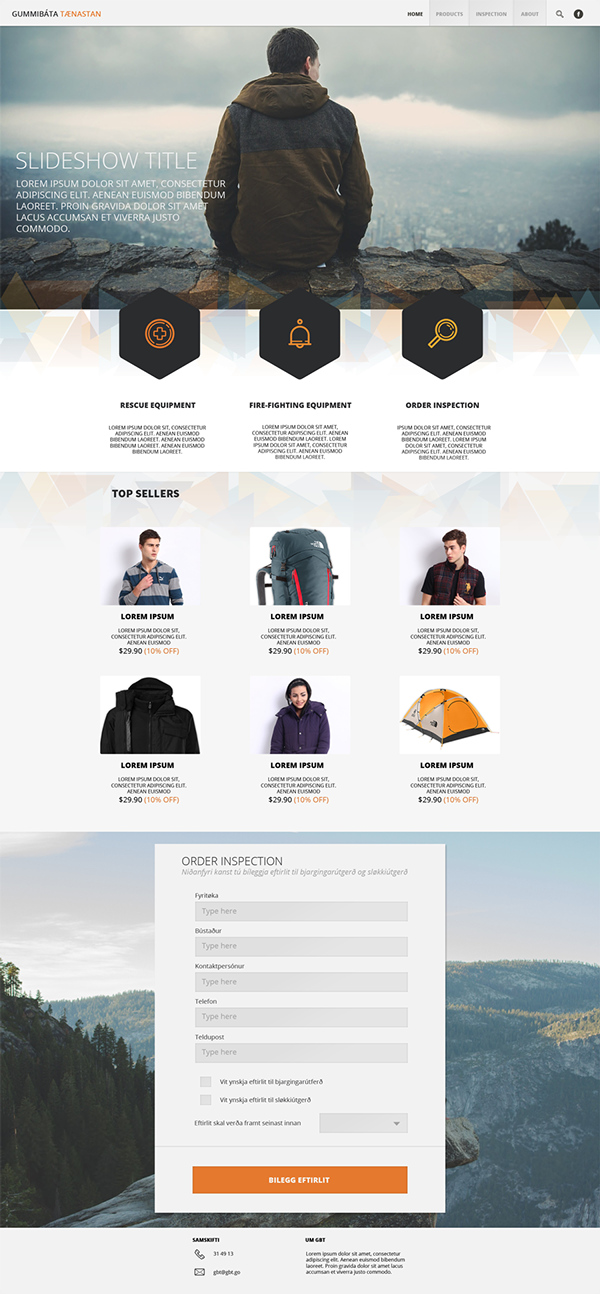 Online Store Website Design on Behance