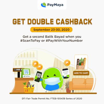 Amazing Jing For Life Get Double Cashback With Paymaya Cashback Double Up Promo Mechanics