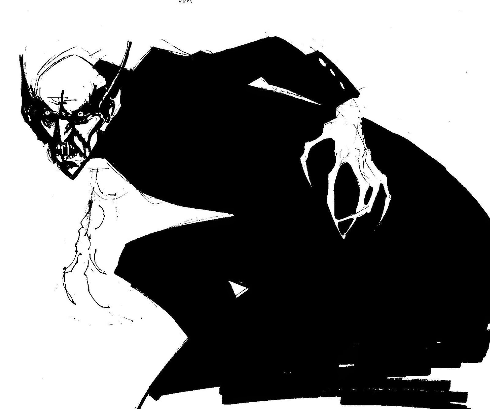 NOSFERATU Fantasy drawings, Monster vampire, Nosferatu